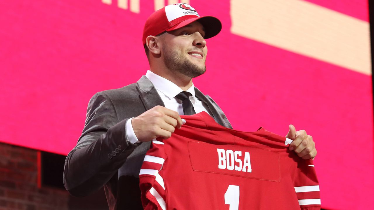 Nick Bosa (Defensive End, San Francisco 49ers) - Bildquelle: imago images / Icon SMI