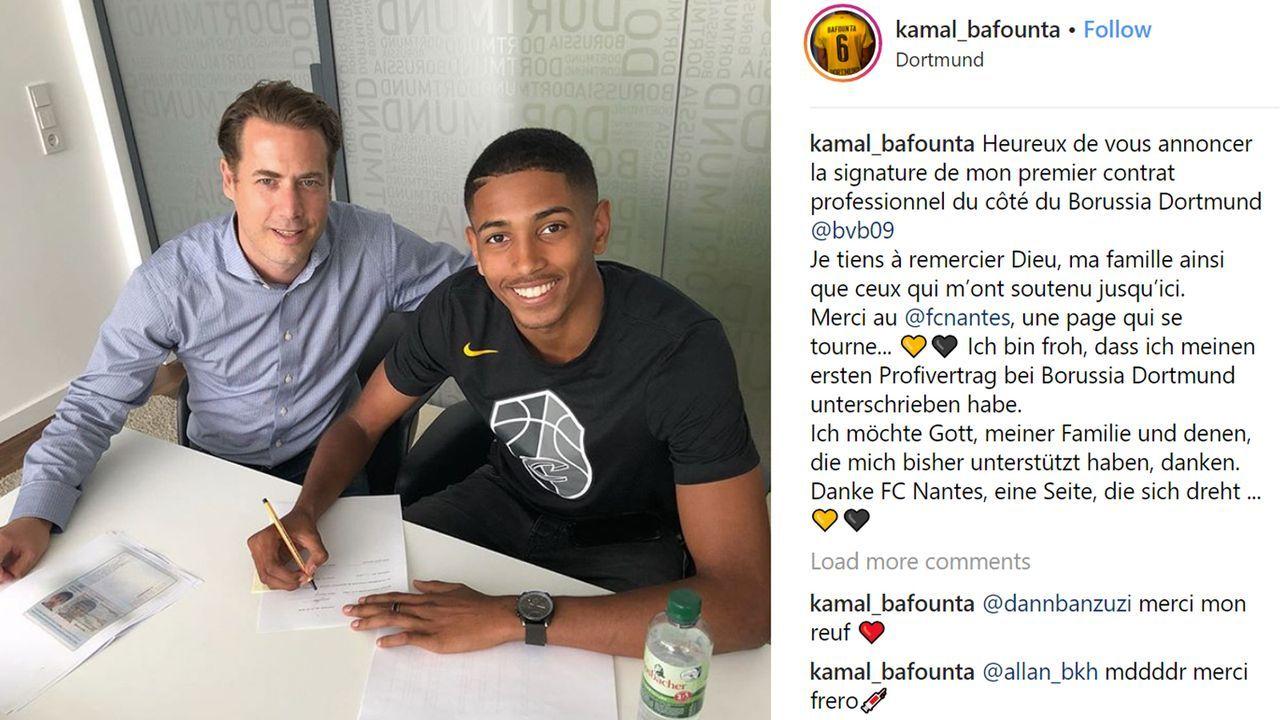 Kamal Bafounta (Zugang Borussia Dortmund)