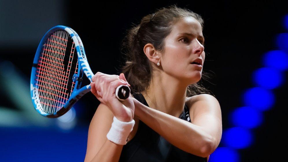 Julia Görges verliert ihr Auftaktmatch in Madrid - Bildquelle: PIXATHLONPIXATHLONSID
