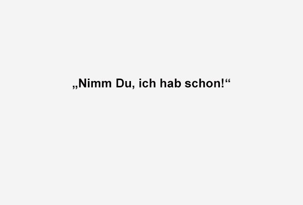 Nimm' du, ich hab - Bildquelle: ran.de