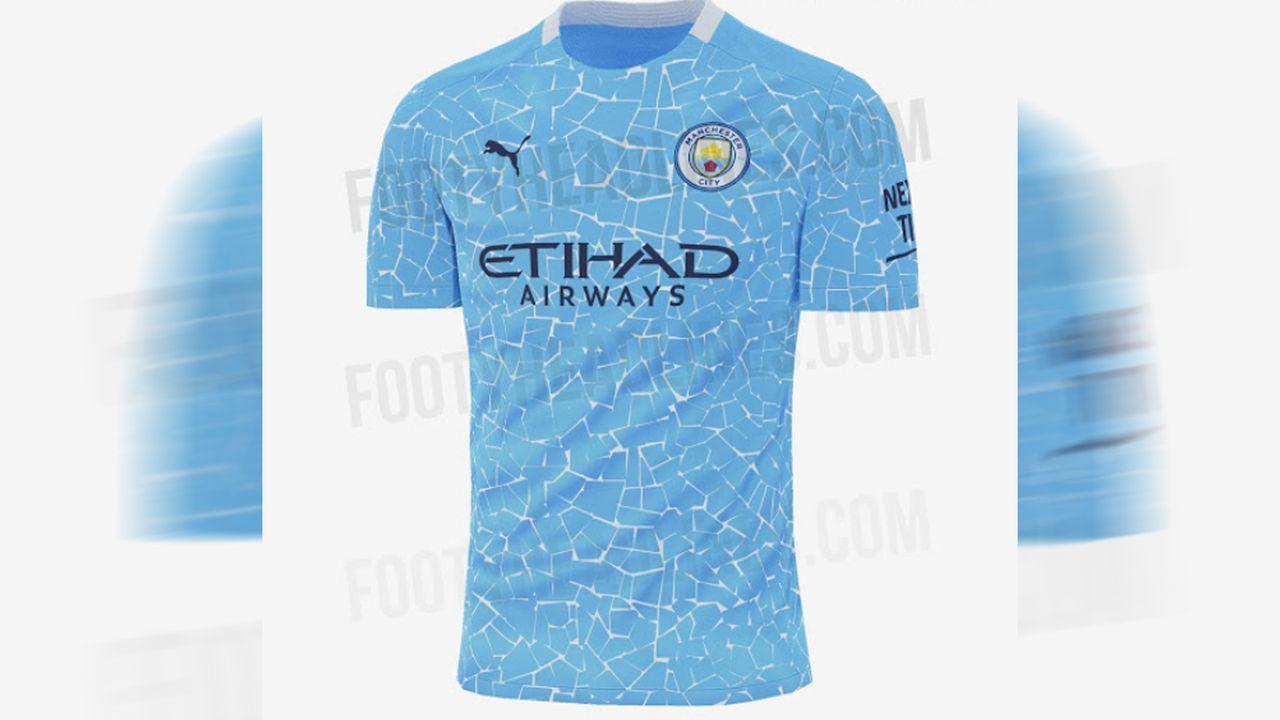 Manchester City (Heimtrikot) - Bildquelle: twitter@Footy_Headlines