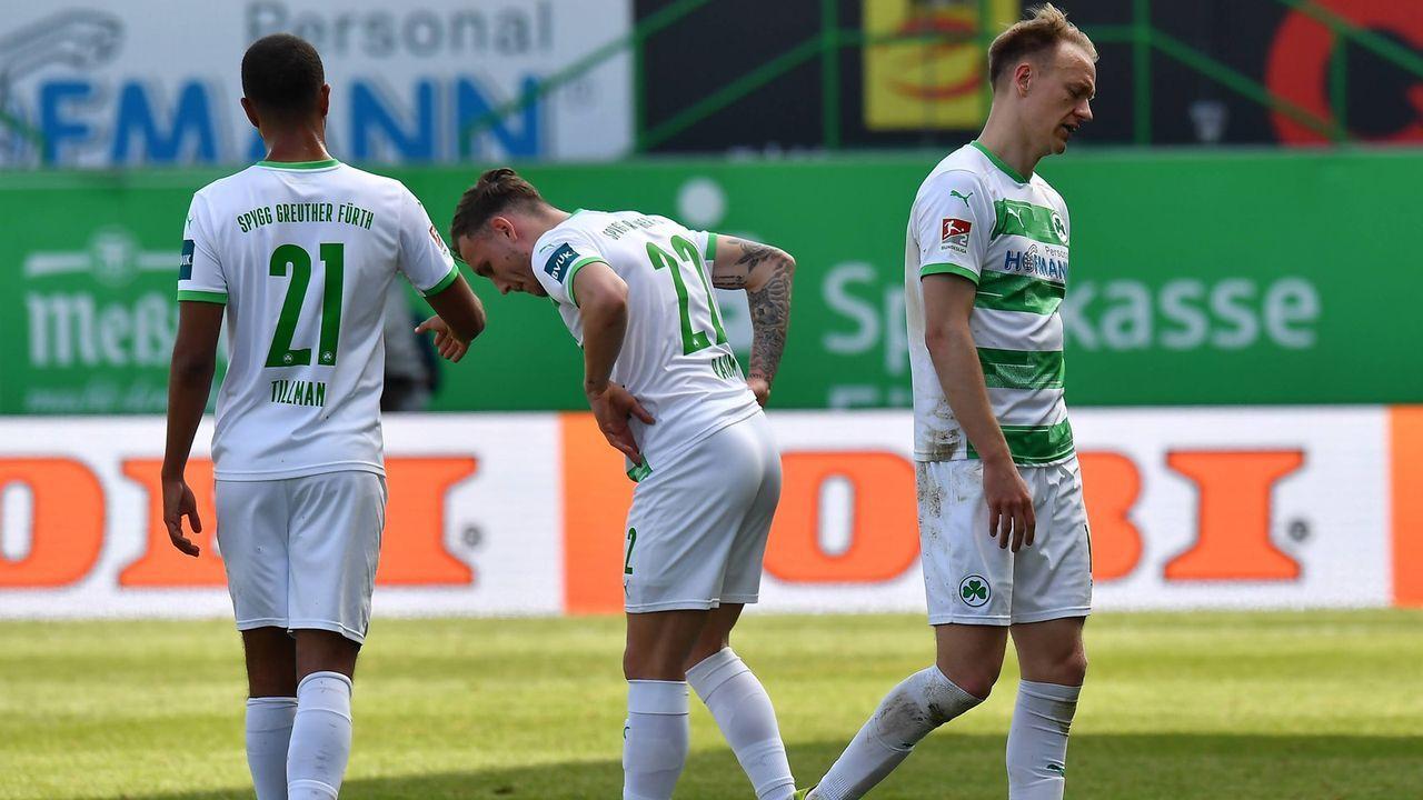Greuther Fürth könnte sich den Relegationsplatz sichern - Bildquelle: imago images/Zink
