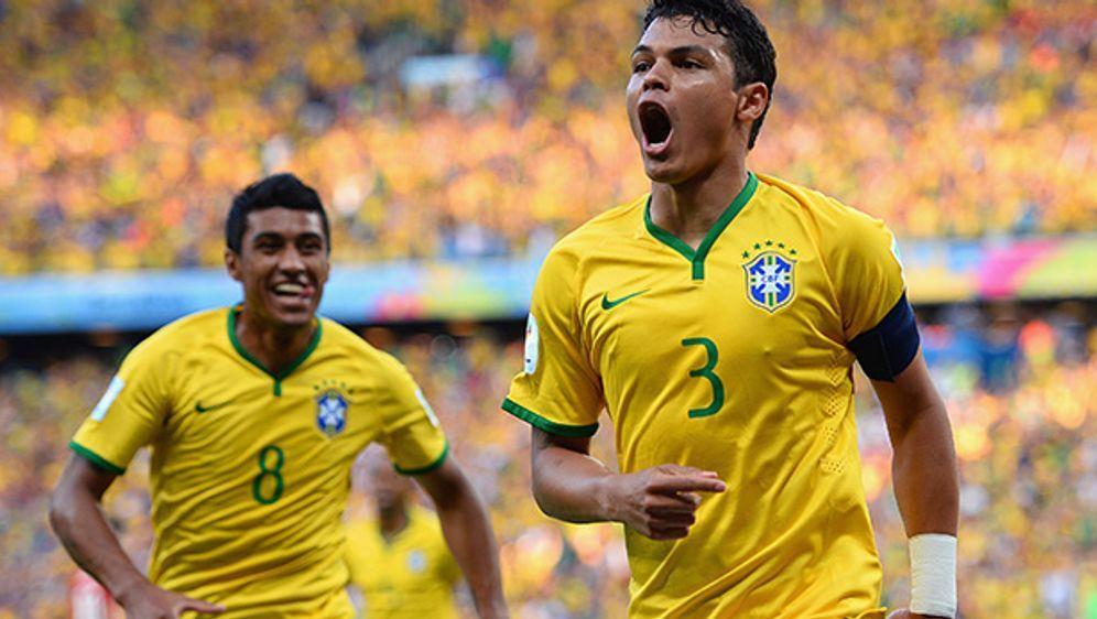Erzielte den Treffer zum 1:0: Thiago Silva - Bildquelle: 2014 Getty Images