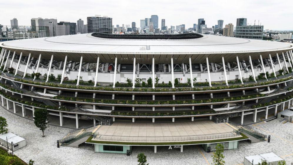 Das neue Stadion wird das Zentrum der Olympischen Spiele - Bildquelle: AFPSIDCHARLY TRIBALLEAU
