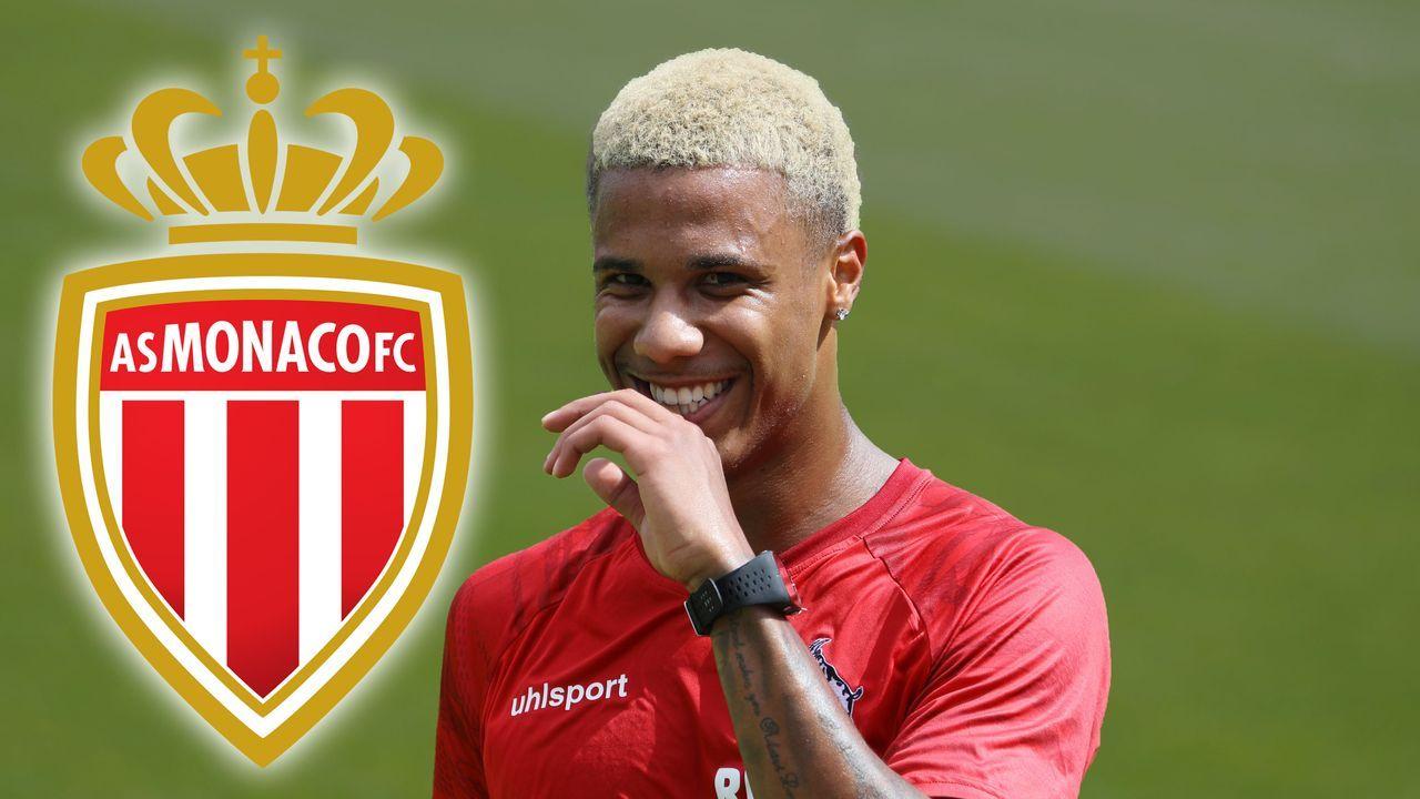 Ismail Jakobs (AS Monaco) - Bildquelle: imago images/Eduard Bopp