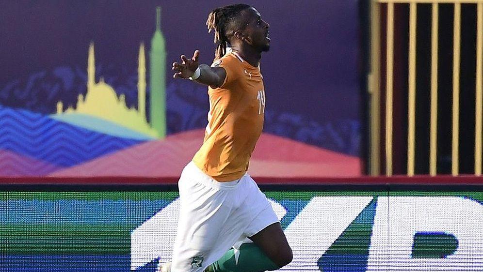 Jonathan Kodjia erzielte das Siegtor gegen Südafrika - Bildquelle: AFPSIDJAVIER SORIANO