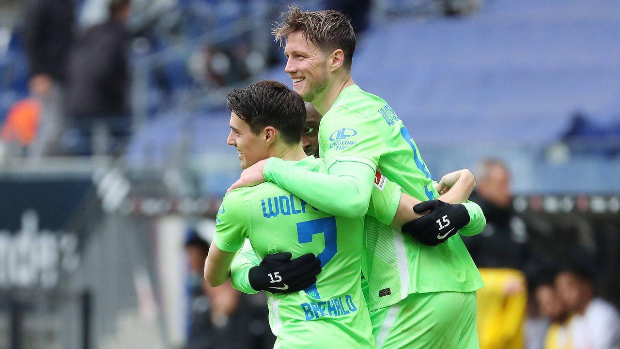 VfL Wolfsburg (sechs Spieler) - Bildquelle: imago images/regios24