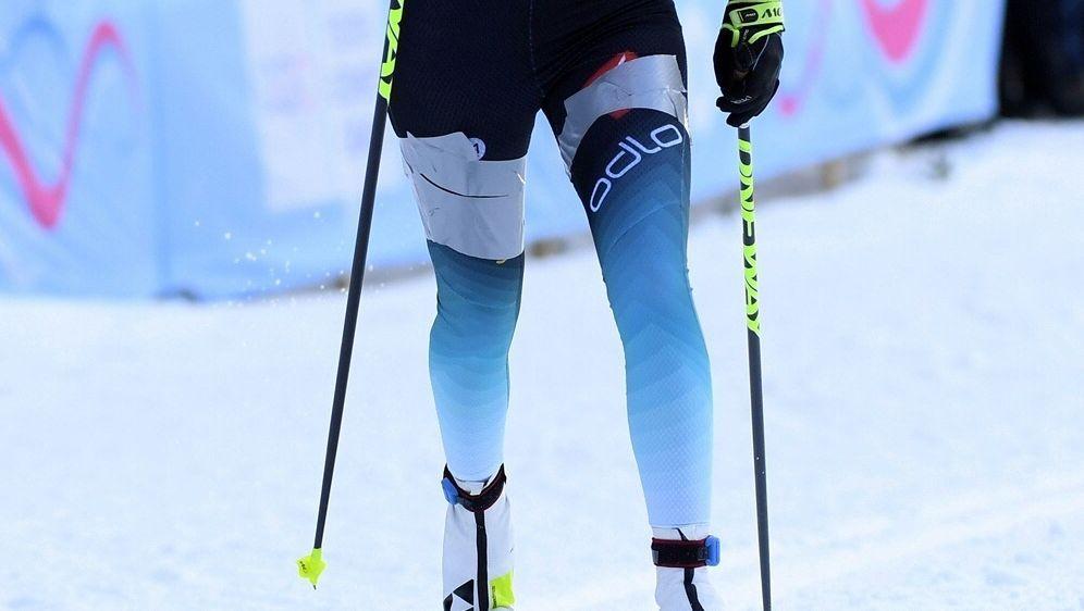 Elias Keck holt Silber über 10km klassisch - Bildquelle: AFPSIDJULIEN CROSNIER
