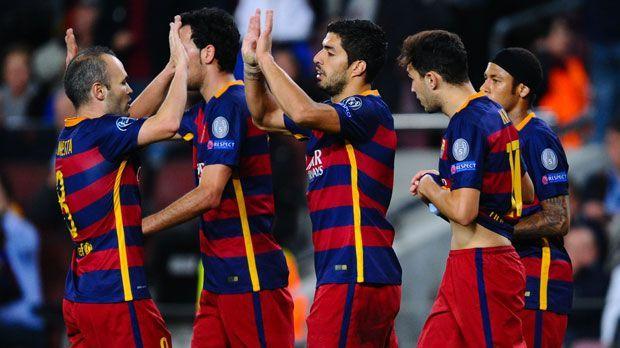 FC Barcelona - Bildquelle: 2015 Getty Images