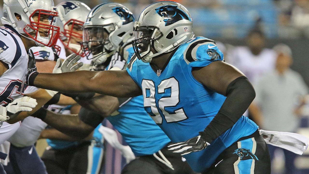Option nicht gezogen: Vernon Butler (Carolina Panthers) - Bildquelle: imago