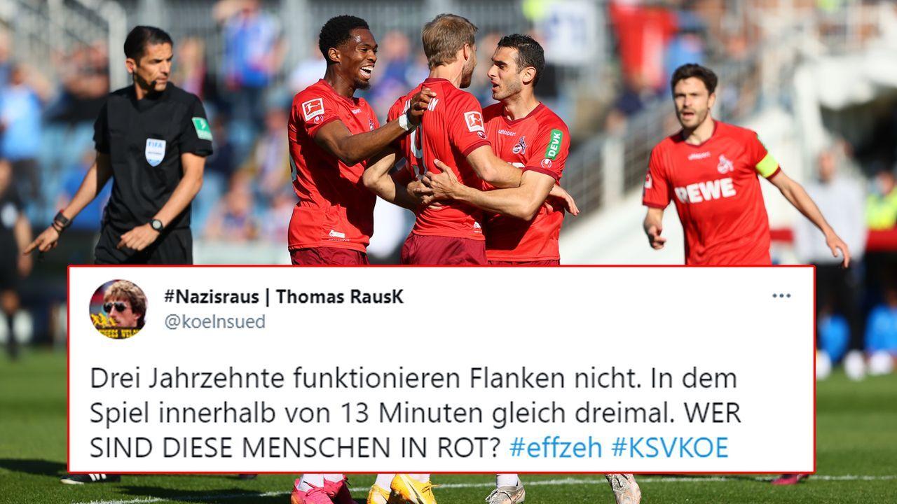 Das ist doch nicht etwa der 1. FC Köln - Bildquelle: 2021 Getty Images