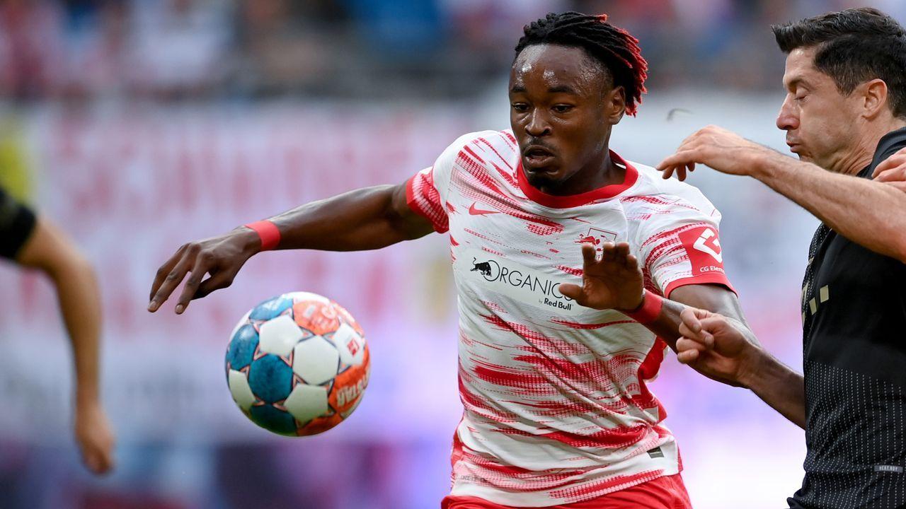 Mohamed Simakan (RB Leipzig) - Bildquelle: Getty Images
