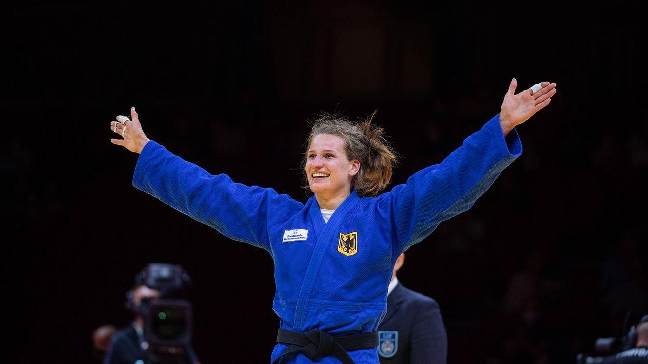 Anna-Maria Wagner (Judo) - Bildquelle: imago images/AFLOSPORT