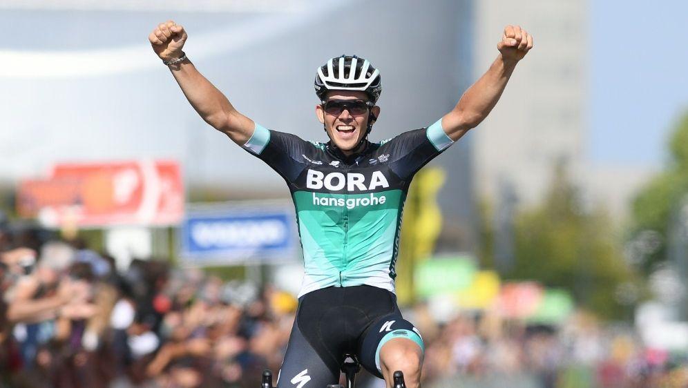 Mühlberger gewann die erste Etappe der Tour - Bildquelle: BelgaAFPSIDDAVID STOCKMAN