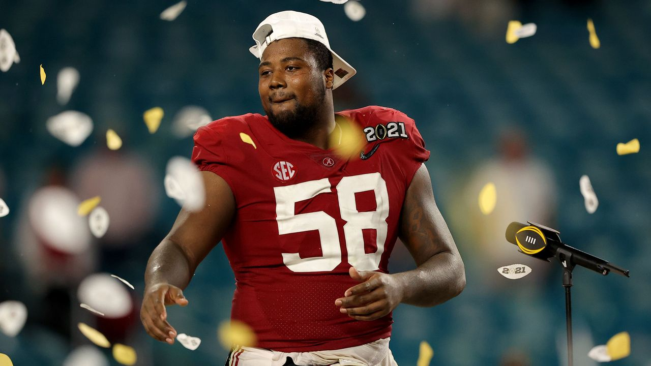 Defensive Tackle Christian Barmore (Alabama) - Bildquelle: GettyImages