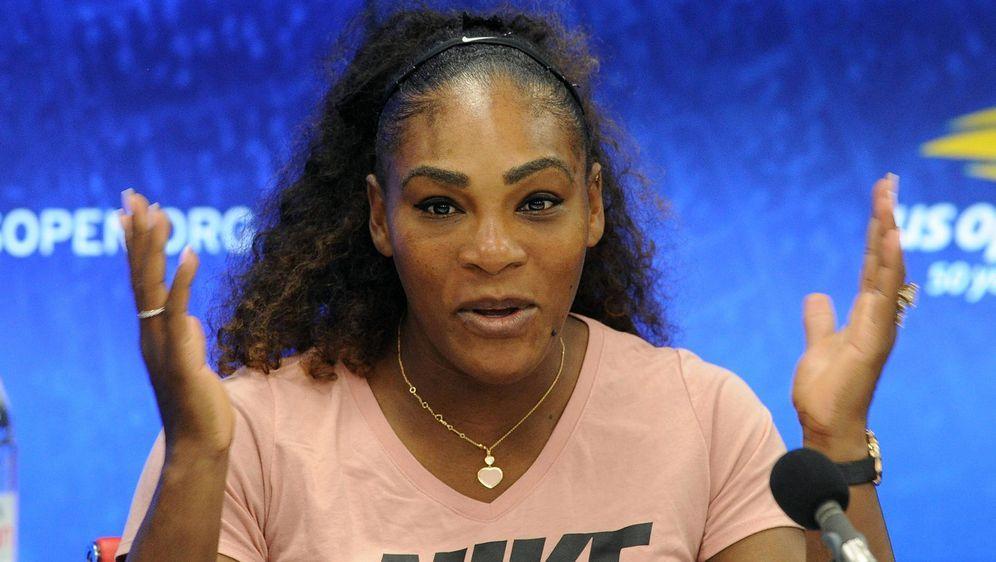 Serena Williams erhob schwere Vorwürfe gegen Schiedsrichter Carlos Ramos - Bildquelle: Imago