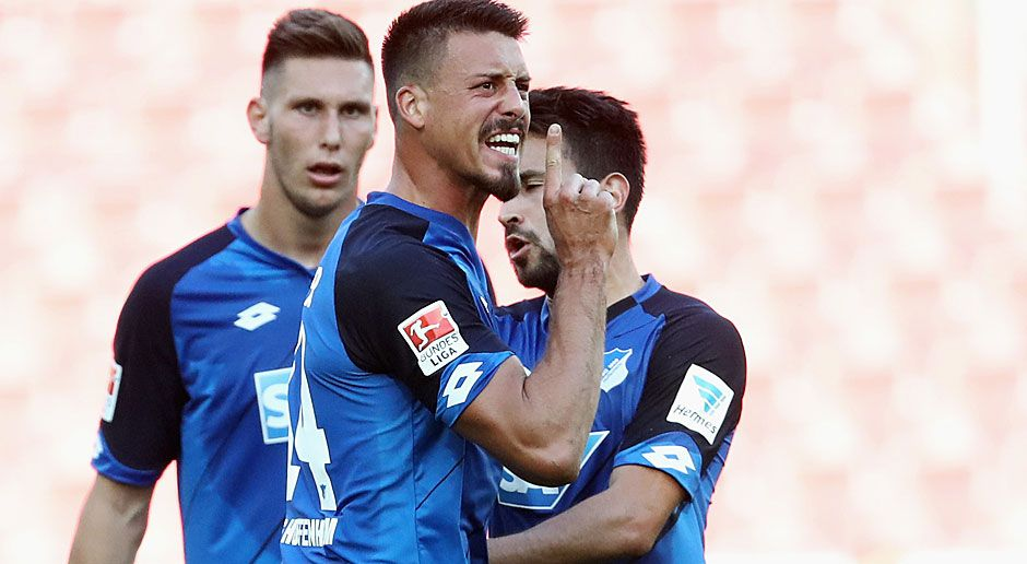 Linker Stürmer: Sandro Wagner (SV Darmstadt/ 1899 Hoffenheim) - Bildquelle: 2016 Getty Images