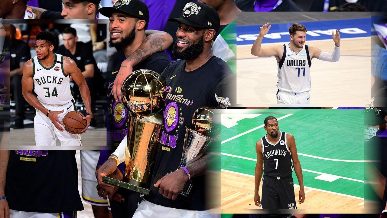 Verteidigen die Lakers ihren Titel? Das Powerranking zum NBA-Start - Bildquelle: Getty Images