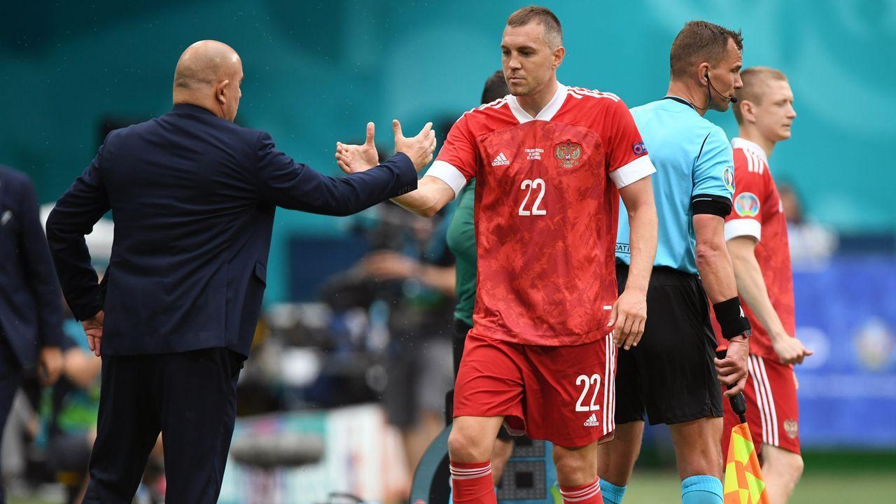 Gruppe B: Russland (Gruppenvierter, 3 Punkte/2:7 Tore) - Bildquelle: 2021 Kirill Kudryavtsev - Pool