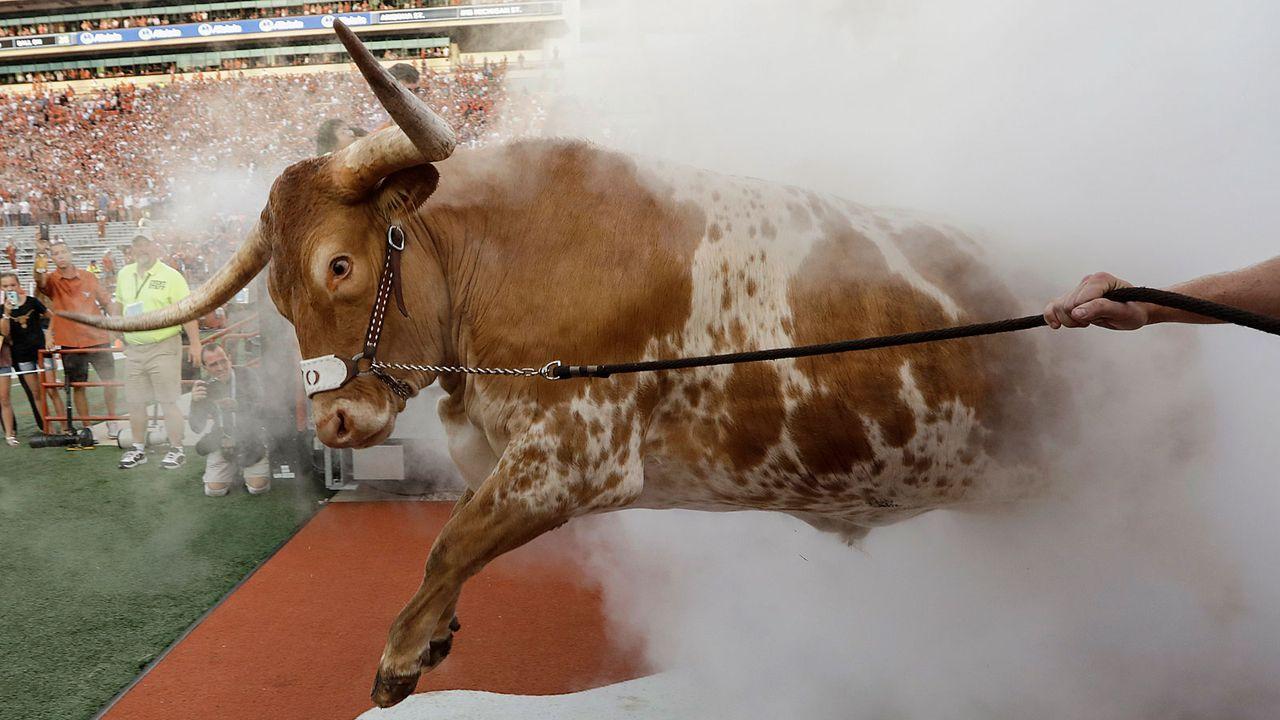 Bevo (Texas Longhorns) - Bildquelle: 2018 Getty Images