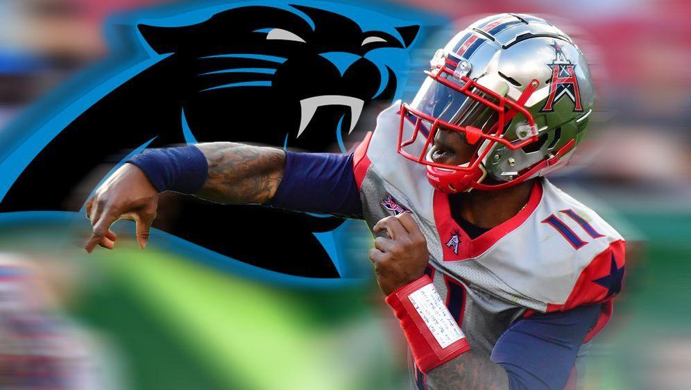 Der XFL-Star unterschreibt bei den Panthers - Bildquelle: Getty Images
