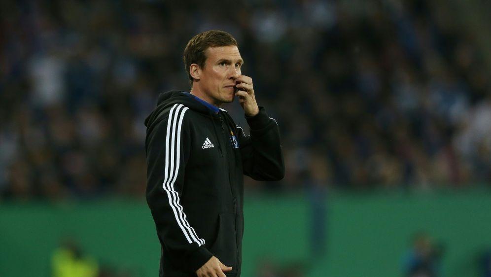 Hannes Wolf steht beim HSV vor unklarer Zukunft - Bildquelle: FIROFIROSID