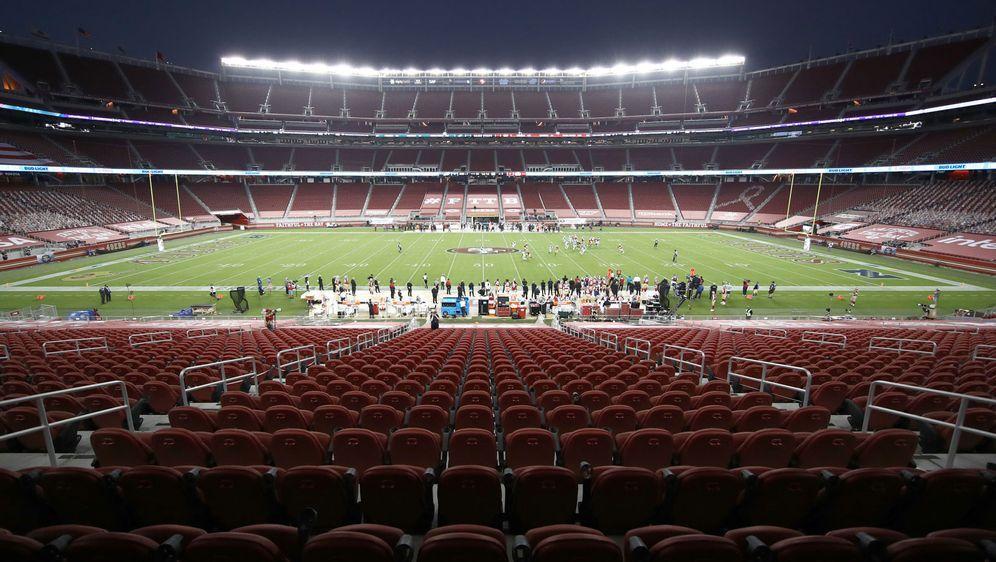 Hier darf vorerst kein American Football mehr gespielt werden: Das Levi's St... - Bildquelle: Getty Images