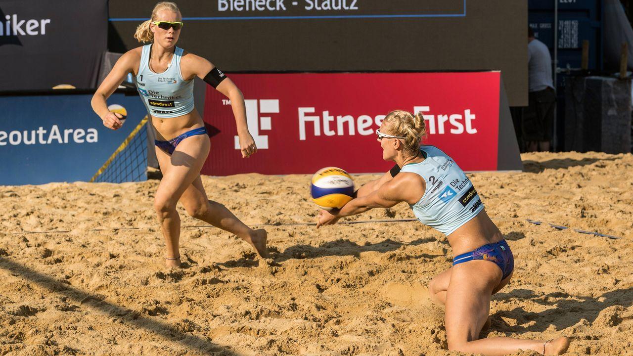 Anna Behlen und Sarah Schneider - Bildquelle: imago/Beautiful Sports