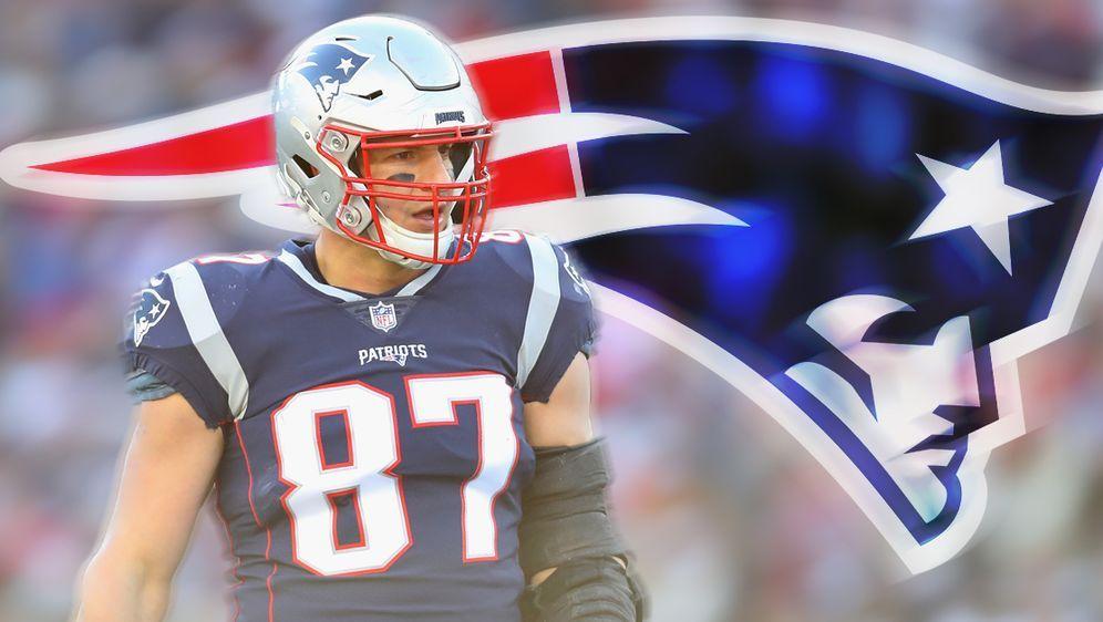 Kommt es zum Gronk-Comeback bei den Patriots? - Bildquelle: 2018 Getty Images