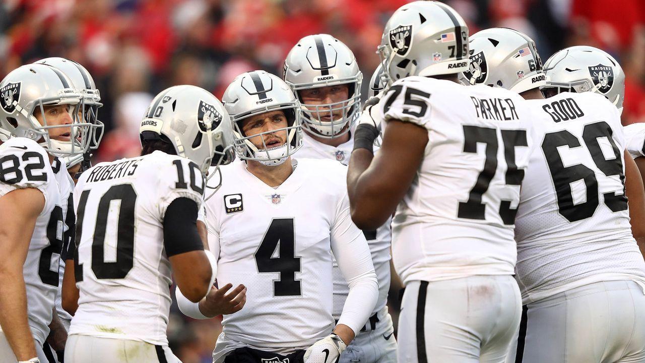 Platz 6: Oakland Raiders - 25 Siege - Bildquelle: Getty Images