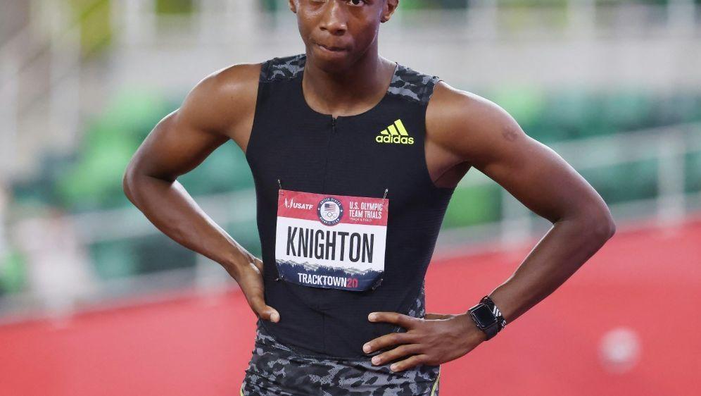 Über die 200 m gilt Erriyon Knighton als Mitfavorit - Bildquelle: AFPGETTY SIDANDY LYONS