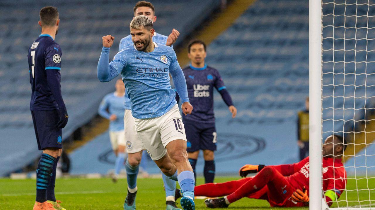 Sergio Agüero (Manchester City) - Bildquelle: imago images/Xinhua