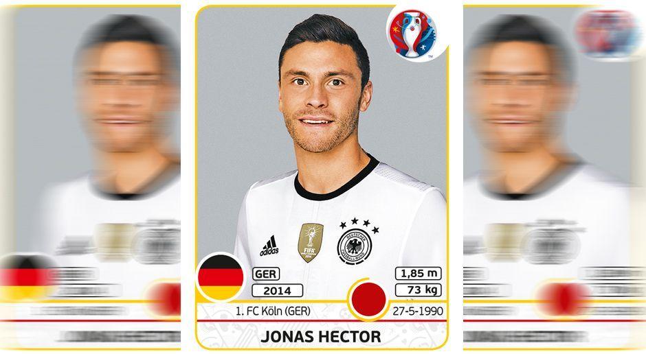 Jonas Hector - Bildquelle: Panini