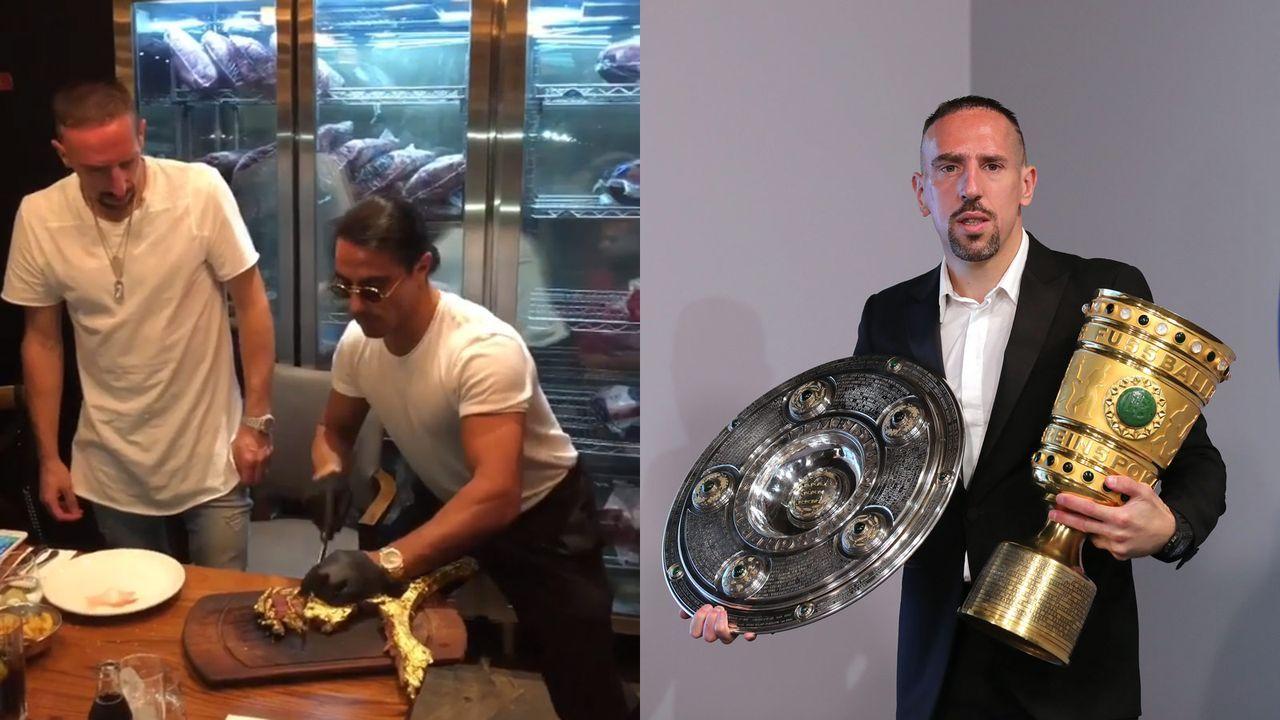 Oscar für den besten Schnitt: Franck Ribery  - Bildquelle: getty/instagram:franckribery7
