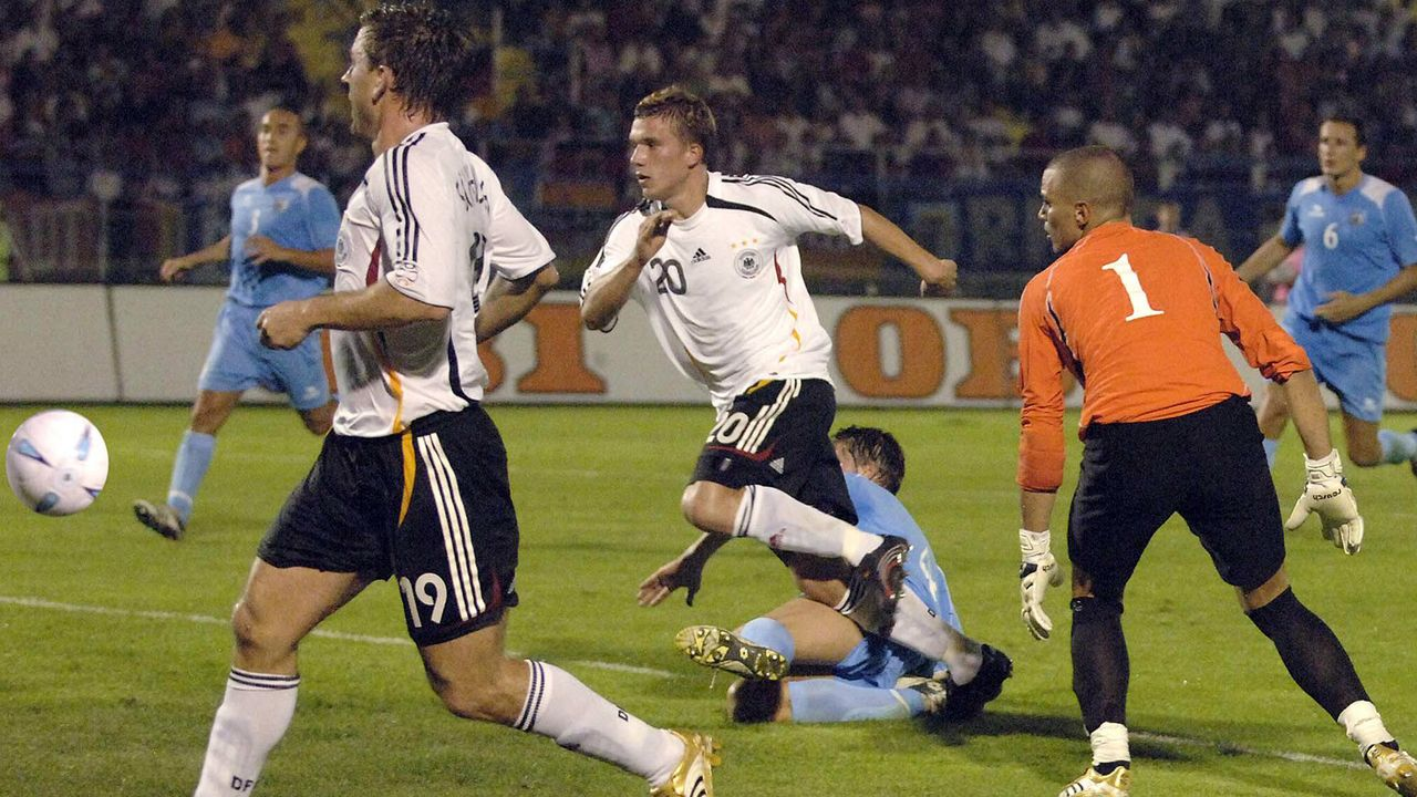 Deutschland gegen San Marino 13:0