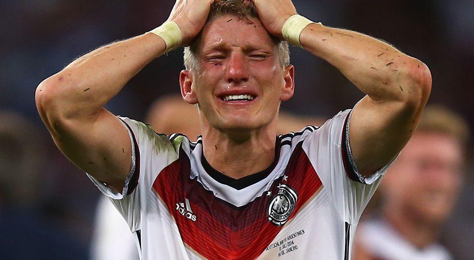 Schweinsteiger Abschied: Zwölf Jahre im DFB Trikot