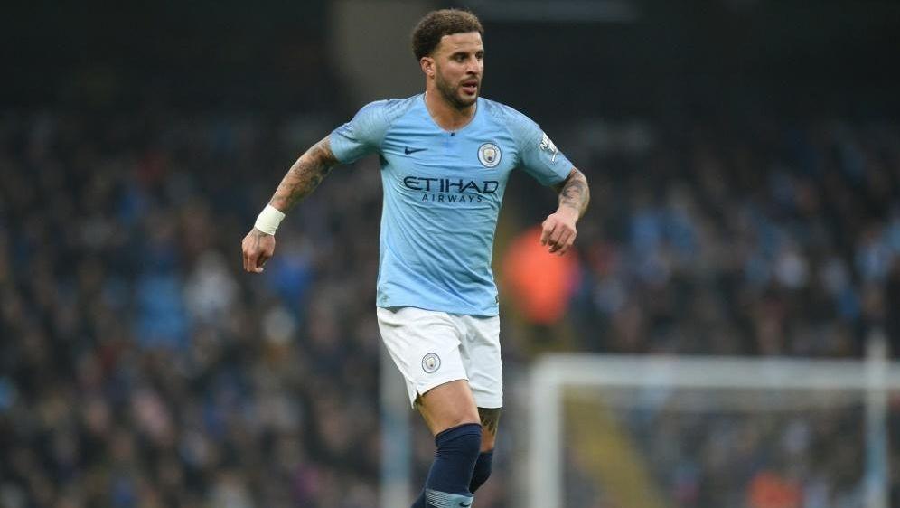 Kyle Walker spielt seit 2017 für Manchester City - Bildquelle: AFPSIDOLI SCARFF