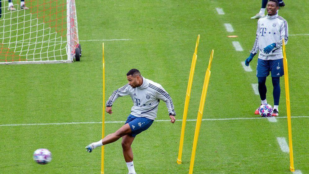 Am Montag nimmt der FC Bayern wieder das Training auf. - Bildquelle: imago
