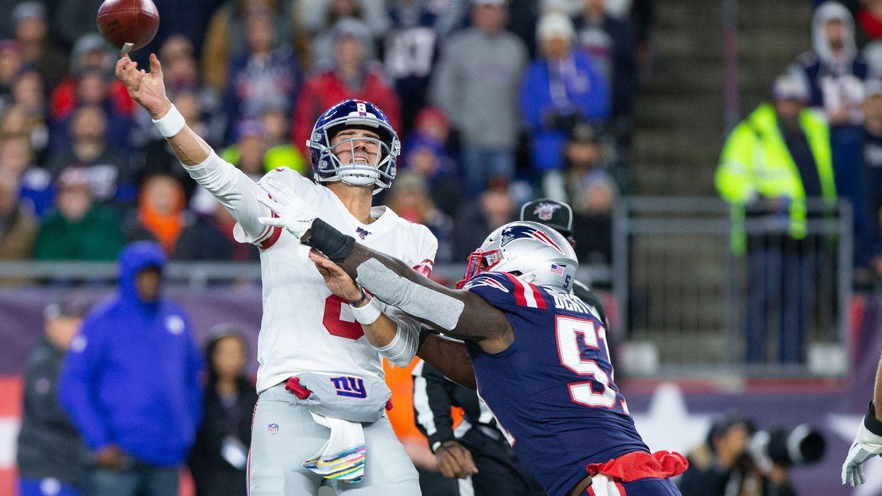 Quarterback-Albtraum - Bildquelle: imago images/UPI Photo