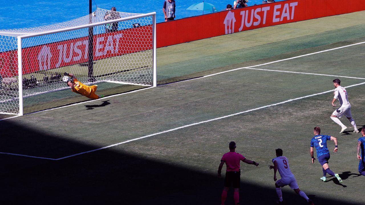 Morata bleibt Spaniens Pechvogel - Bildquelle: 2021 Getty Images