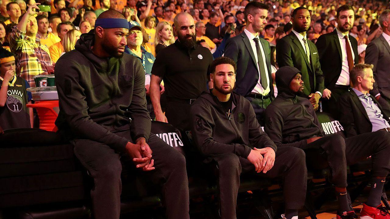 Drei Starter könnten Warriors verlassen - Bildquelle: 2019 Getty Images