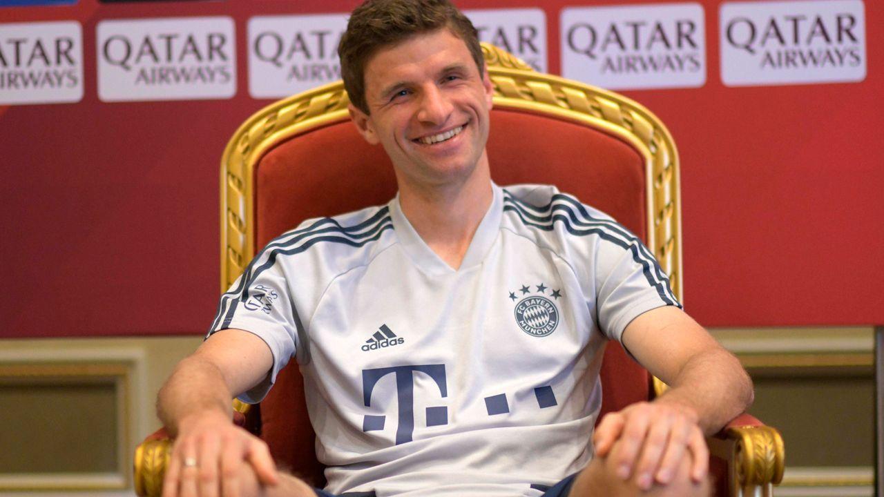 Thomas Müller verrät: FC Bayern München setzt auf Cyber-Training - Bildquelle: imago images/MIS