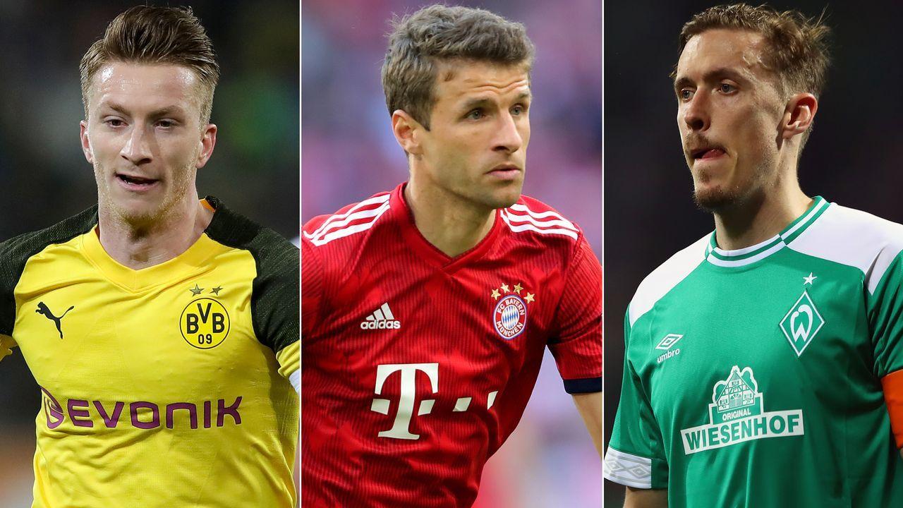 Der 50-50-Klub der Bundesliga  - Bildquelle: Getty Images