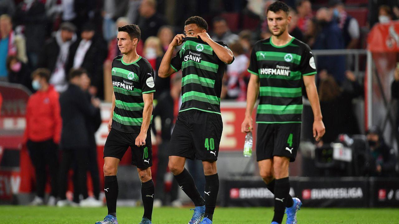 Nach sieben Spielen: Greuther Fürth immer noch ohne Sieg - Bildquelle: imago images/Zink