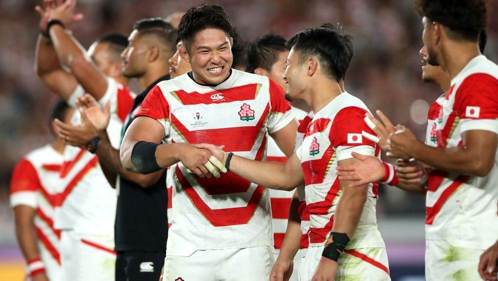 WM-Gastgeber Japan trifft im Viertelfinale auf Südafrika. - Bildquelle: 2019 Getty Images