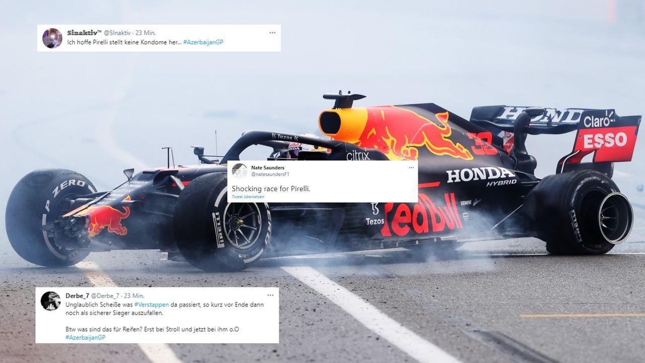 Die Netzreaktionen zum Rennen in Baku - Bildquelle: Getty