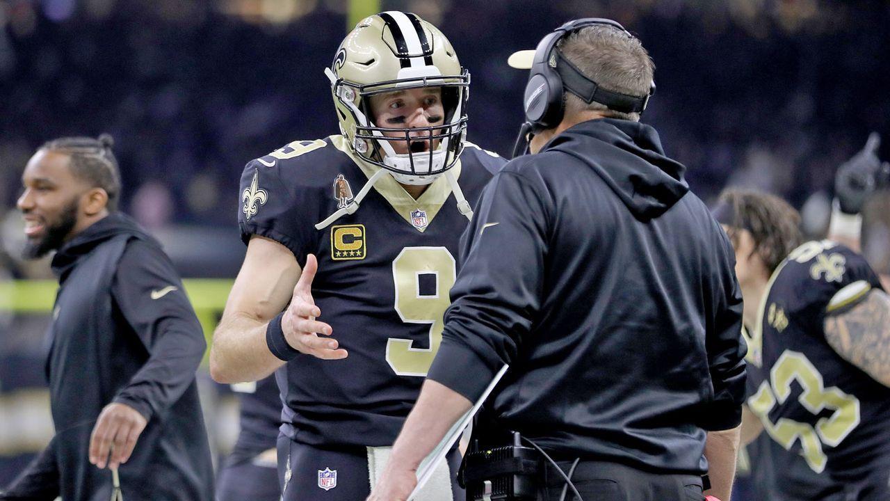 Verlierer: New Orleans Saints - Bildquelle: Getty