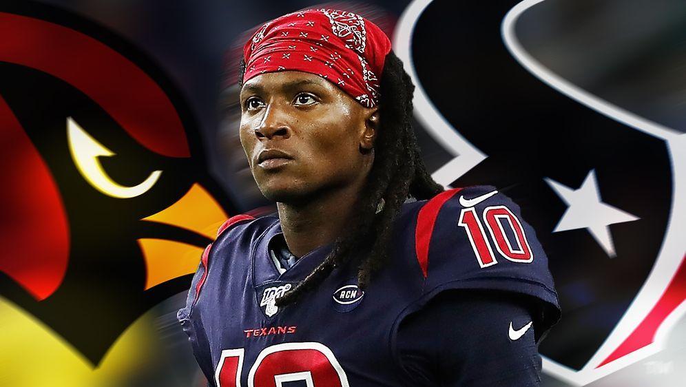 DeAndre Hopkins wird in Zukunft für die Arizona Cardinals auflaufen - Bildquelle: getty/ran.de