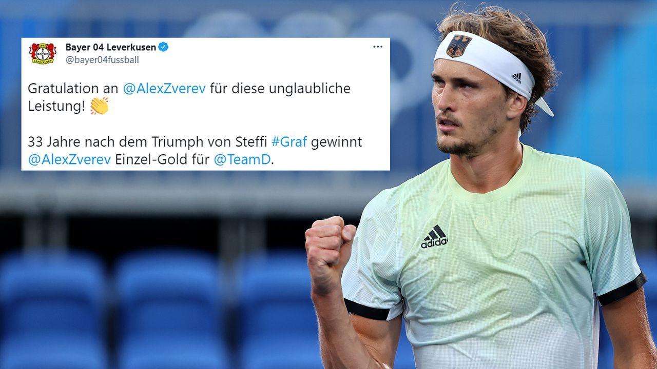 Bayer Leverkusen - Bildquelle: Getty Images/twitter@bayer04fussball