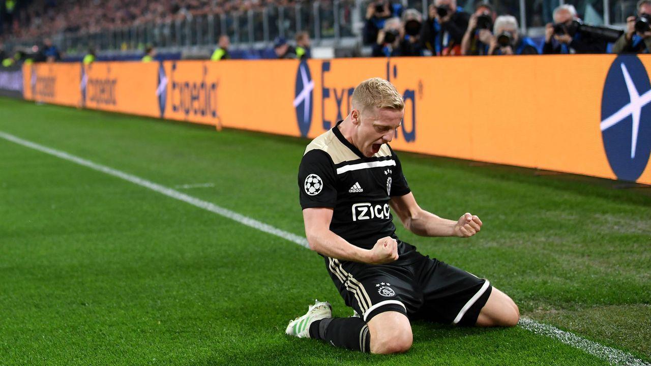 Donny van de Beek (22) - Bildquelle: 2019 Getty Images
